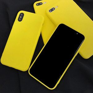 NEW iPhone 11/Pro/Max Full-Cover yellow case